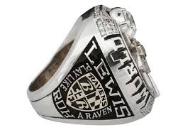Super Bowl ring that was given by Stephen Bisciotti, owner of the Ravens, to ex-RB Jamal Lewis was put in an auction