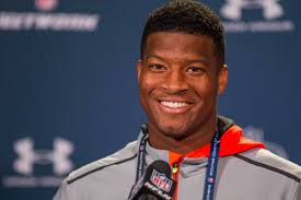 Jameis Winston meets with the Bucs